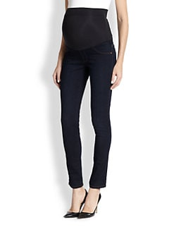 James Jeans Maternity - Twiggy Stretch Jersey-Paneled Skinny Maternity Jeans
