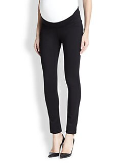 James Jeans Maternity - Jeans-Style Stretch Knit Maternity Leggings
