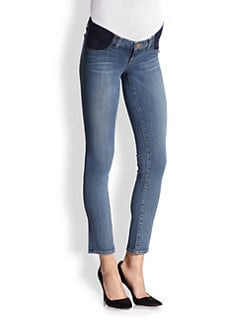 J Brand Maternity - Maternity Rail-Straight Jeans/Bayside