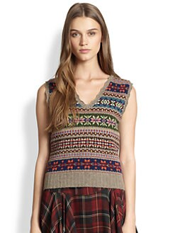 Polo Ralph Lauren - Pointelle Sweater Vest