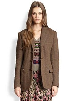 Polo Ralph Lauren - Tweed Boyfriend Jacket