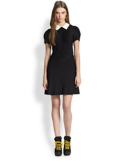 Polo Ralph Lauren - Contrast-Collar Dress