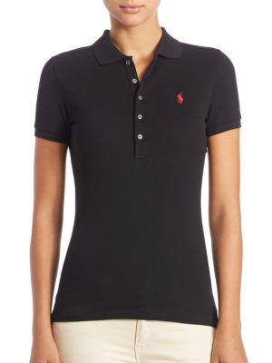 Stretch-Cotton Polo Shirt by Polo Ralph Lauren