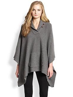 Polo Ralph Lauren - Merino Wool/Cashmere Poncho Sweater