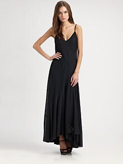 Ralph Lauren Blue Label - Pintucked Jersey Gown