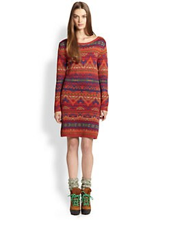 Polo Ralph Lauren - Geo-Pattern Knit Dress