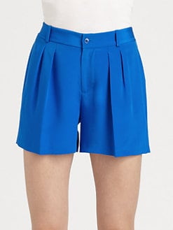 Ralph Lauren Blue Label - Crepe de Chine Shorts