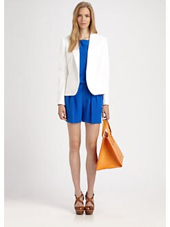 Ralph Lauren Blue Label - Cotton Alexa Blazer