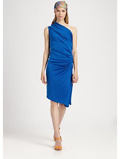 Ralph Lauren Blue Label - Silk Jersey Lucinda Dress