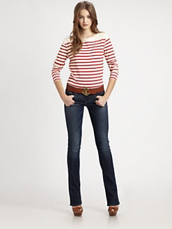 Ralph Lauren Blue Label - Tori Striped Tee