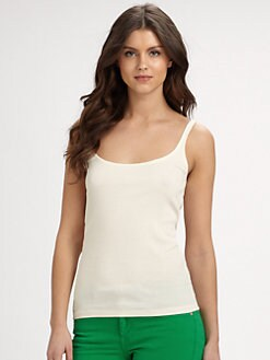 Ralph Lauren Blue Label - Ribbed Cotton Tank