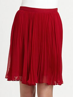 Ralph Lauren Blue Label - Silk Chiffon Pipa Skirt