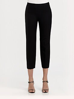 Ralph Lauren Blue Label - Lina Cropped Wool Pants
