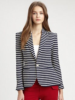 Ralph Lauren Blue Label - Kara Striped Jacket