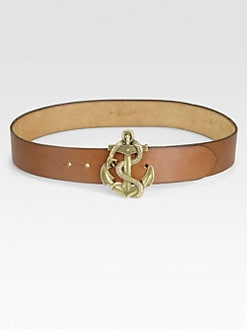 Ralph Lauren Blue Label - Anchor-Buckle Belt