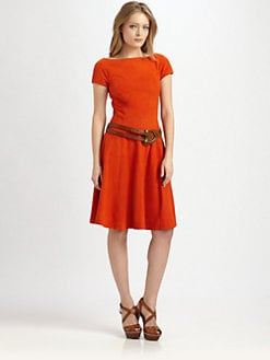 Ralph Lauren Blue Label - Erica Suede Dress