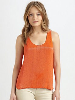 Ralph Lauren Blue Label - Jackie Beaded Silk Tank
