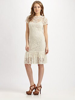Ralph Lauren Blue Label - Crocheted Lace Dress