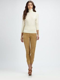 Ralph Lauren Blue Label - Stretch-Suede Leggings