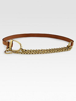 Ralph Lauren Blue Label - O-Ring Leather Belt