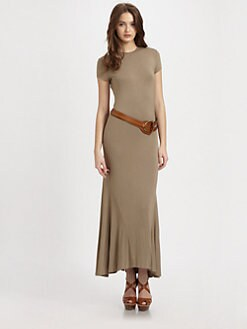 Ralph Lauren Blue Label - Jersey Knit Maxi Dress