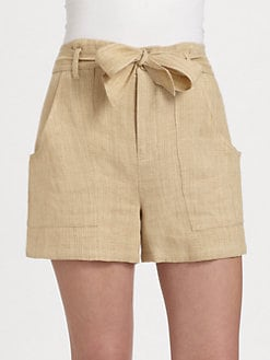 Ralph Lauren Blue Label - Linen Huston Shorts