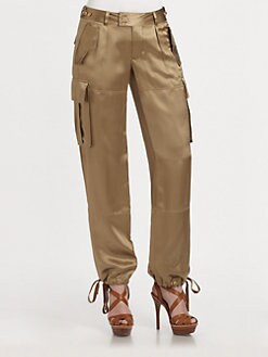 Ralph Lauren Blue Label - Dyed-Satin Overberg Pants