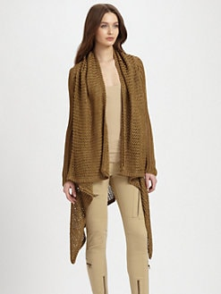Ralph Lauren Blue Label - Linen Open-Knit Wrap