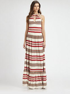 Ralph Lauren Blue Label - Jersey April Striped Dress