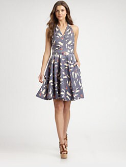 Ralph Lauren Blue Label - Portofino-Print Hartsdale Dress