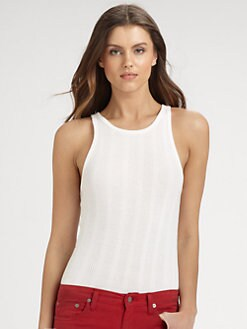 Ralph Lauren Blue Label - Cotton Lucia Tank Top