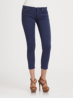 Ralph Lauren Blue Label - Cropped Skinny Jeans