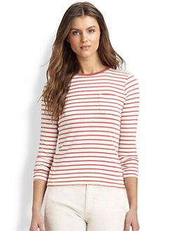 Ralph Lauren Blue Label - Striped Long-Sleeve Tee