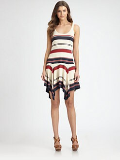 Ralph Lauren Blue Label - Raina Striped Tank Dress