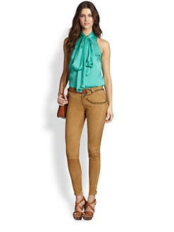Ralph Lauren Blue Label - Silk Linette Blouse