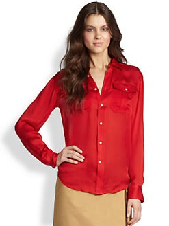 Ralph Lauren Blue Label - Silk Pippa Blouse