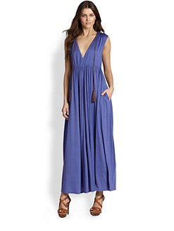Ralph Lauren Blue Label - Silk Hadley Maxi Dress
