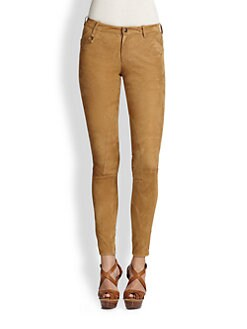 Ralph Lauren Blue Label - Suede Palermo Jodhpur Pants
