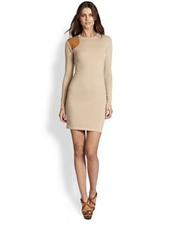 Ralph Lauren Blue Label - Cashmere Crewneck Sweaterdress