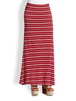 Ralph Lauren Blue Label - Kimika Striped Maxi Skirt