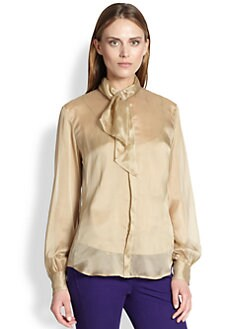 Ralph Lauren Blue Label - Silk Annette Blouse