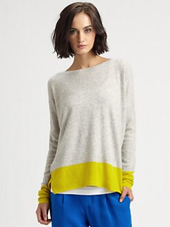 Vince - Cashmere Colorblock Sweater