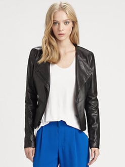 Vince - Asymmetric Leather Jacket