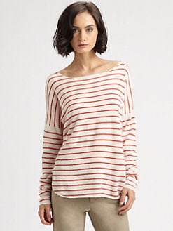 Vince - Cashmere Striped Sweater