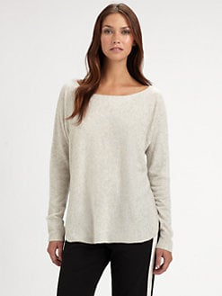 Vince - Cashmere Shirttail Sweater