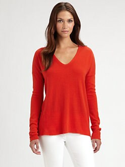 Vince - Cashmere V-Neck Top