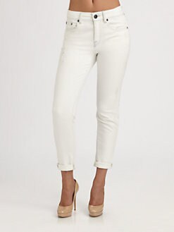 Vince - Relaxed Rolled Jeans