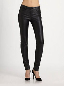 Vince - Stretch Leather Jeans