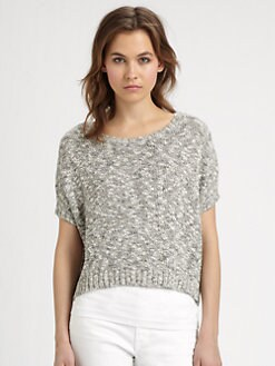 Vince - Marled Cropped Sweater