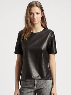 Vince - Leather Tee
